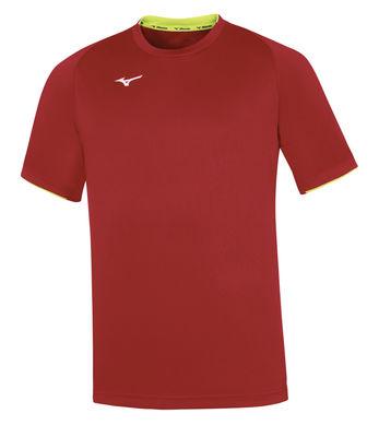 Mizuno Core SS Tee Erkek T-Shirt Kırmızı