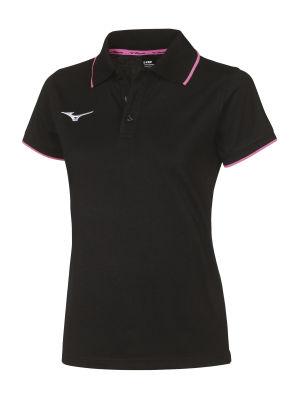 Mizuno Polo Kadın T-Shirt Siyah