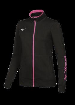 Mizuno Sweat FZ Jacket Kadın Sweat Siyah
