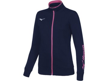 Mizuno Sweat FZ Jacket Kadın Sweat Lacivert