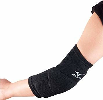 Mizuno Team F Elbow Support Voleybol Dirseklik Siyah