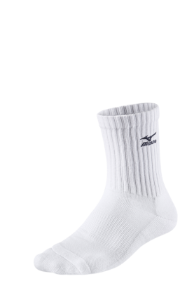 Volley Socks Medium Unisex Çorap Beyaz