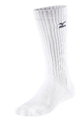 Volley Socks Long Voleybol Unisex Çorap Beyaz