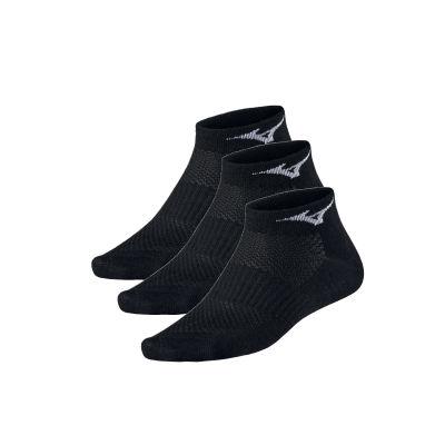Mizuno Traning Mid 3P Unisex Çorap Siyah