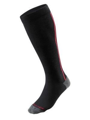 Light Ski Socks Unisex Çorap Siyah