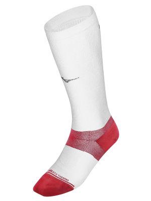 Mizuno Ski Socks Arch Support Çorap Beyaz/Kırmızı