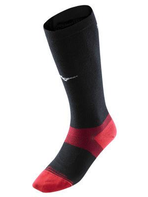 Mizuno Ski Socks Arch Support Unisex Çorap Siyah/Kırmızı