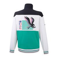 Archive Jacket Erkek Sweat Beyaz/Desenli - Thumbnail