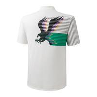 Archive Polo Erkek T-Shirt Beyaz/Desenli - Thumbnail