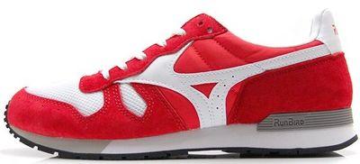 Mizuno ML87 Günlük Unisex Giyim Ayakkabısı Kırmızı