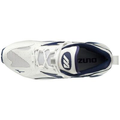 Mizuno Wave Rider 1 Unisex Günlük Giyim Ayakkabısı Beyaz / Lacivert