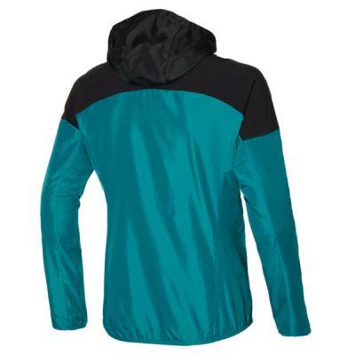 Hooded Jacket Erkek Yağmurluk Yeşil/Siyah