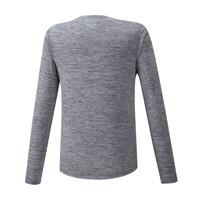 Mizuno Impulse Core LS Tee Erkek T-Shirt Gri - Thumbnail