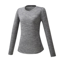 Impulse Core LS Tee Kadın T-Shirt Gri - Thumbnail