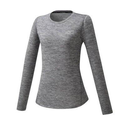 Impulse Core LS Tee Kadın T-Shirt Gri