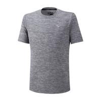 Mizuno Impulse Core Tee Erkek T-Shirt Gri - Thumbnail