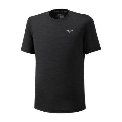 Mizuno Impulse Core Tee Erkek T-Shirt Siyah