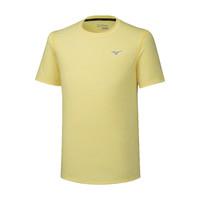 Mizuno Impulse Core Tee Erkek T-Shirt Sarı - Thumbnail