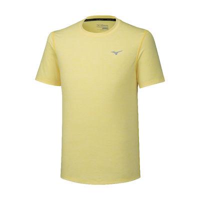 Mizuno Impulse Core Tee Erkek T-Shirt Sarı