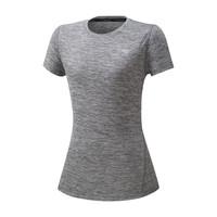 Mizuno Impulse Core Tee Kadın T-Shirt Gri - Thumbnail