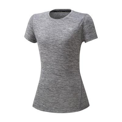 Mizuno Impulse Core Tee Kadın T-Shirt Gri