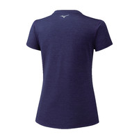 Mizuno Impulse Core Tee Kadın T-Shirt Lacivert - Thumbnail