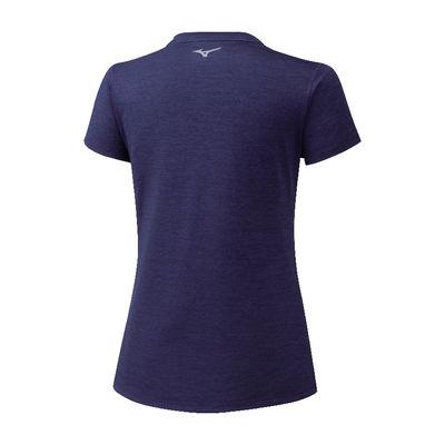 Mizuno Impulse Core Tee Kadın T-Shirt Lacivert