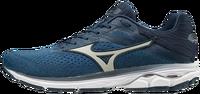 Mizuno Wave Rider 23 Erkek Koşu Ayakkabısı Mavi/Lacivert - Thumbnail