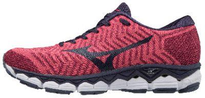 Mizuno Wave Knit S1 Kadın Koşu Ayakkabısı Pembe