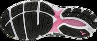 Mizuno Wave Rider 23 (W) Kadın Koşu Ayakkabısı Gri/Siyah - Thumbnail