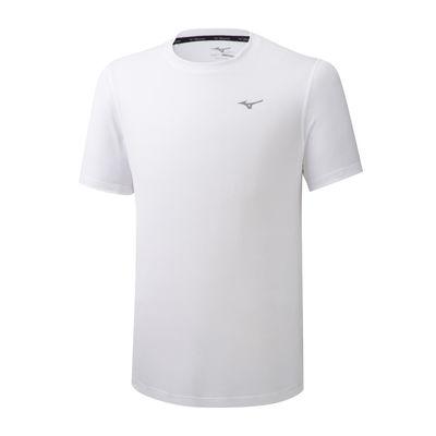 Mizuno Impulse Core Tee Erkek T-Shirt Beyaz