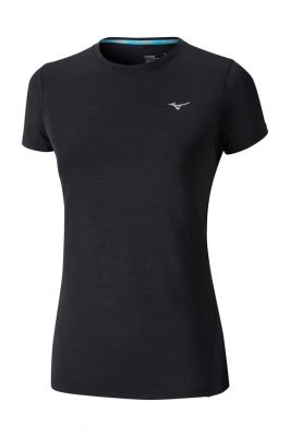 Mizuno Impulse Core Tee Kadın T-Shirt Siyah