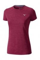 Mizuno Impulse Core Tee Kadın T-Shirt Pembe - Thumbnail