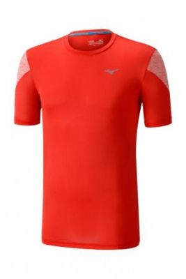 Mizuno Alpha Tee Erkek T-Shirt Kırmızı