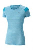 Mizuno Alpha Tee Kadın T-Shirt Mavi - Thumbnail