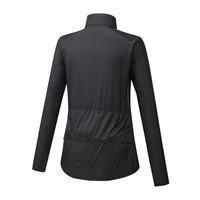 Mizuno Hineri Pouch Jacket Kadın Yağmurluk Siyah - Thumbnail