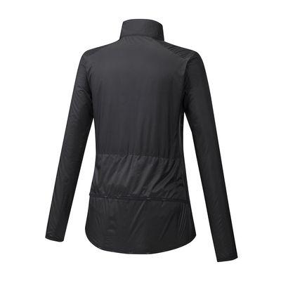 Mizuno Hineri Pouch Jacket Kadın Yağmurluk Siyah