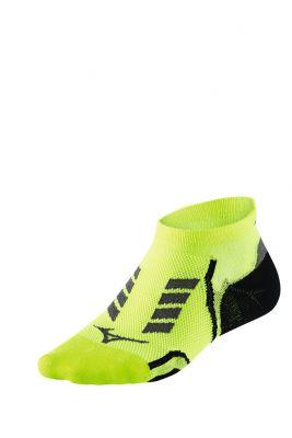 Mizuno Drylite Race Low Çorap Yeşil/Siyah