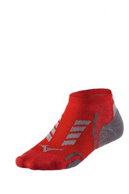 Mizuno Drylite Race Low Unisex Çorap Kırmızı/Gri