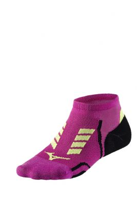 Mizuno Drylite Race Low Unisex Çorap Pembe/Siyah