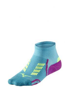 Mizuno Drylite Race Mid Unisex Çorap Mavi/Pembe