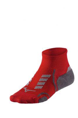 Mizuno Drylite Race Mid Unisex Çorap Kırmızı/Gri