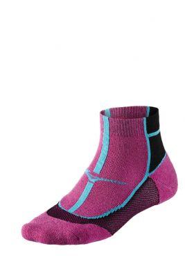 Mizuno Cooling Comfort Mid Unisex Çorap Pembe/Siyah