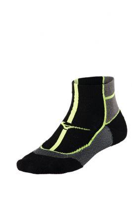 Mizuno Cooling Comfort Mid Unisex Çorap Siyah/Gri