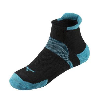 Mizuno Drylite Race Low Unisex Çorap Siyah/Mavi