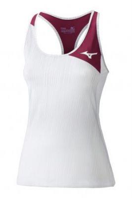 Mizuno Amplify Tank Kadın T-Shirt Beyaz/Bordo