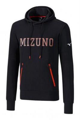 Mizuno Heritage Hoody Erkek Sweat Siyah