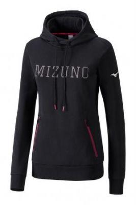 Mizuno Heritage Hoody Kadın Sweatshirt Siyah