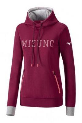 Mizuno Heritage Hoody Kadın Sweatshirt Bordo