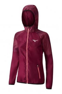 Mizuno Printed Hoodie Jacket (W) Yağmurluk